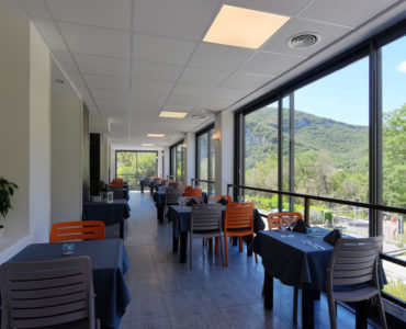 The restaurant - Panoramic view